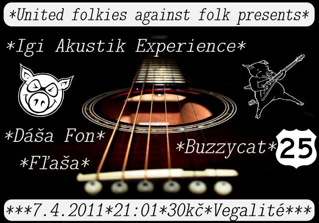 Koncert United folkies against folk