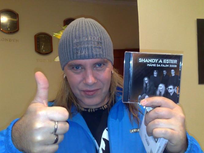 Andy Derris (Helloween) a naše CD