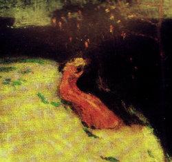 Profilový obrázek potok a dívka