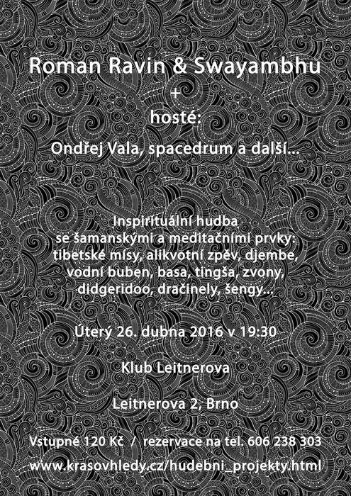 Plakát koncertu na Leitnerce