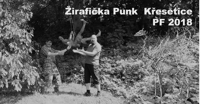 Žirafička Punk Křesetice PF 2018