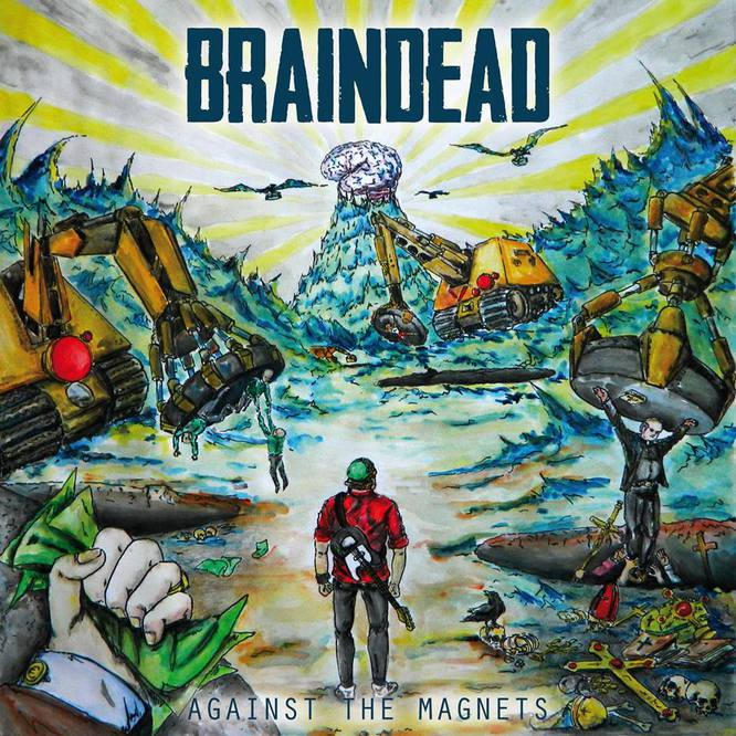 Braindead  - Against The Magnets (EP) (2014)