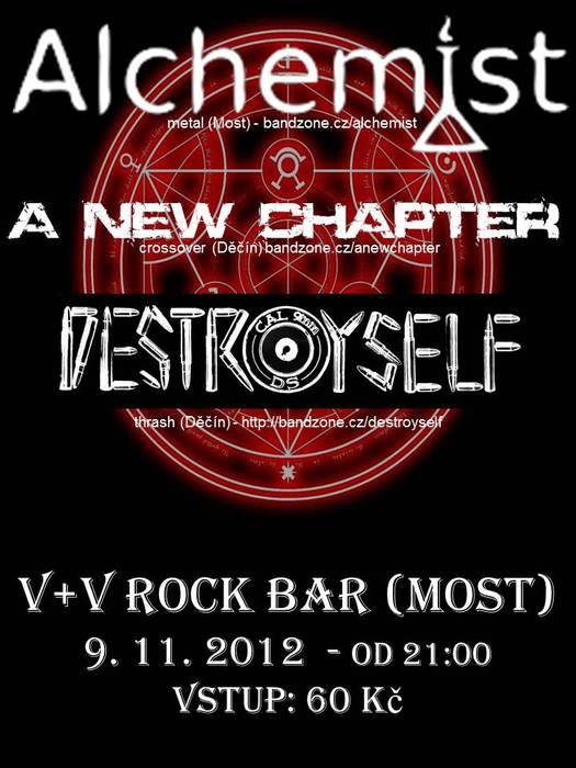 V+V Rock bar - 9.11.2012