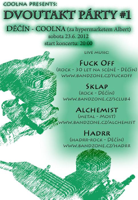 Dvoutakt párty vol 1 (23.6.2012 - Coolna - Děčín)