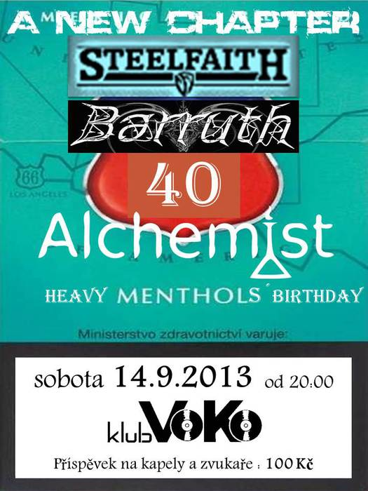 Heavy Mentol´s Birthday
