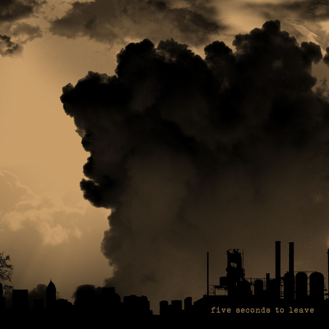 "12"" split Five Seconds to Leave / esazlesa"