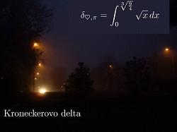 Profilový obrázek Kroneckerovo Delta