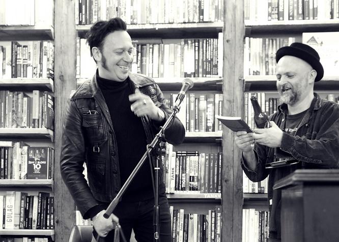 Hank Manchini a Marcel Kříž
