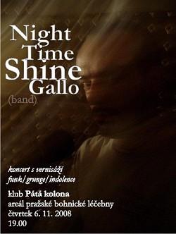 Profilový obrázek Night Time Shine Gallo Band