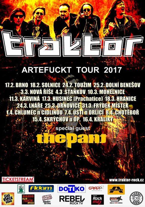 Artefuckt tour 2017