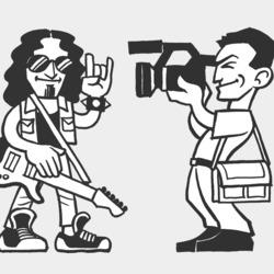 """Obrázek ke článku blogu: """"Kolik stojí videoklip?"""" animovaný klip pro Pjoniho"""