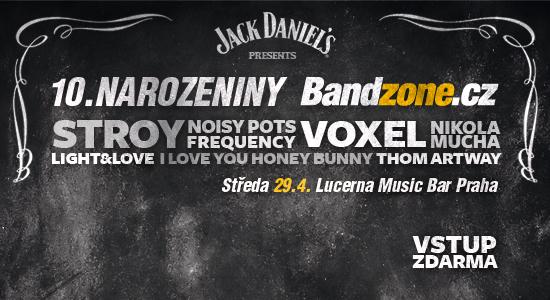 Promo fotografie: 10. Narozeniny Bandzone.cz