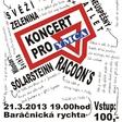 Profilový obrázek Koncerty pro YMCA 21.3.2013 Baráčnická rychta!