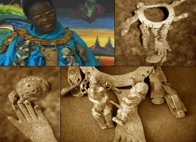 Credo Mutwa a náhrdelník záhad