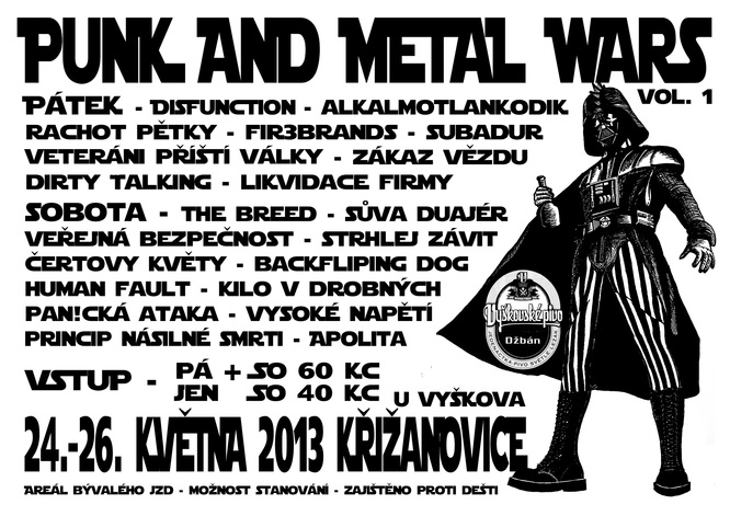 Punk And Metal Wars
