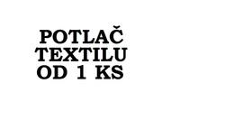 Profilový obrázek potlac textilu od 1ks
