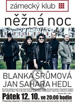 Blanka Šrůmová a Jan Sahara Hedl / Něžná noc