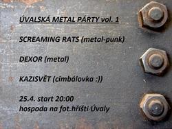 Profilový obrázek ÚVALSKÁ METAL PARTY VOL. 1