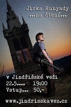 Profilový obrázek Jirka Hunyady na čtení v Jindřišské věži