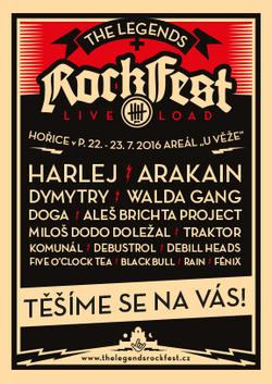 Profilový obrázek The Legends Rock Fest 2016 (aneb Legendy ožívají)