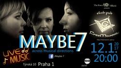 Profilový obrázek MAYBE 7 napříč hudebními směry