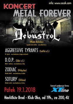 Profilový obrázek Metal Forever - Debustrol a další v Havlíčkově Brodě