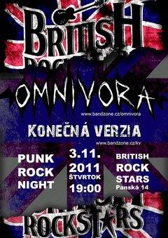 Profilový obrázek 3.11. BRITISH ROCK STARS: OMNIVORA + KONEČNÁ VERZIA