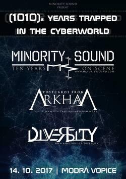 Profilový obrázek Minority Sound - 10 Years trapped in the cyberworld