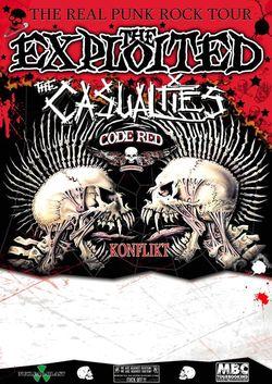 Profilový obrázek The Exploited, The Casualties, Code Red, Konflikt