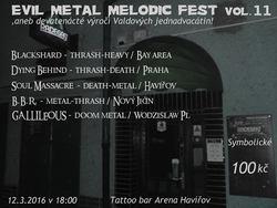 Profilový obrázek Evil Metal Melodic Fest Vol. 11