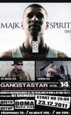 Profilový obrázek Gangstastar Vol.14: Majk Spirit / Christmas Show