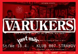 Profilový obrázek THE VARUKERS (uk), JUST WÄR (cz)