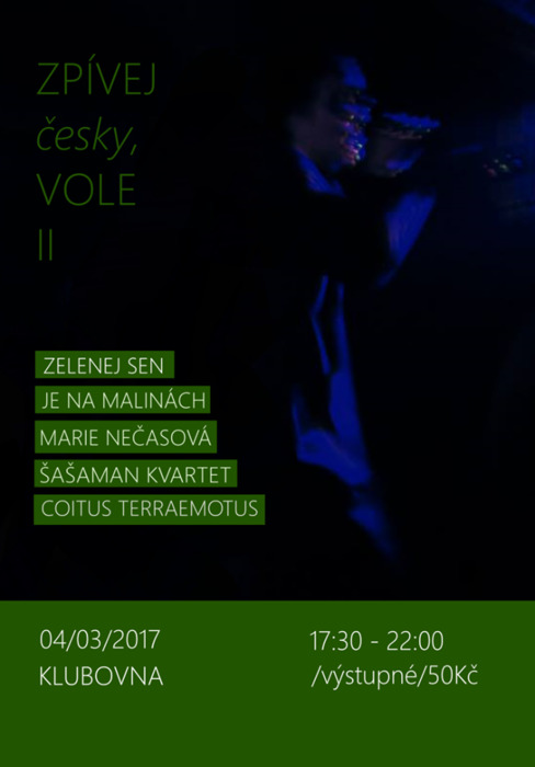 Zpívej česky, vole! II, Praha @ Klubovna | Česko