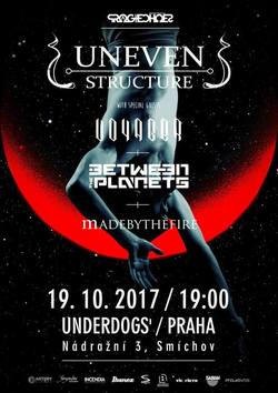 Profilový obrázek Uneven Structure (FRA) + Voyager (AUS) + Between the Planets + MadeByTheFire