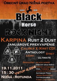 Profilový obrázek BLACK HORSE Rock Night
