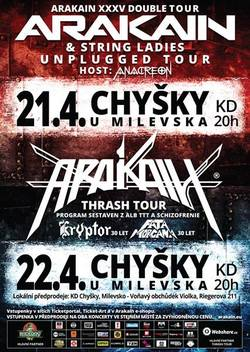 Profilový obrázek ARAKAIN XXXV DOUBLE TOUR 2017