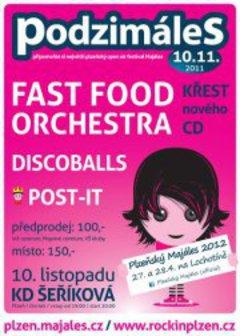Profilový obrázek Podzimáles - Fast Food Orchestra, Discoballs, Post-it
