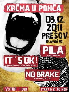 Profilový obrázek PILA + IT´S OK + NO BRAKE