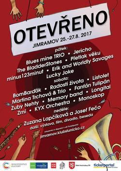 Profilový obrázek 28. festival Otevřeno Jimramov 2017