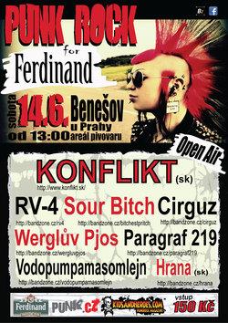 Profilový obrázek Punk rock for Ferdinand
