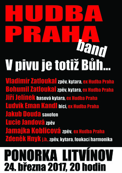Profilový obrázek HUDBA PRAHA BAND: V PIVU JE TOTIŽ BŮH...