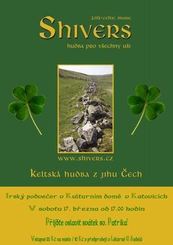 Profilový obrázek irský podvečer - svátek svatého Patrika