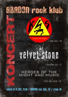Profilový obrázek KSS - Velvet Stone - Heroes Of Might And Music