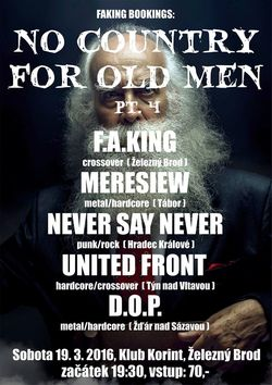 Profilový obrázek NO COUNTRY FOR OLD MEN PT.4 / NO PAIN NO GAIN TOUR 2016
