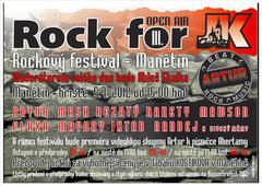Profilový obrázek Rock for JK - rockový festival