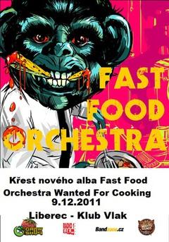 Profilový obrázek Křest nového CD Fast Food Orchestra v Liberci