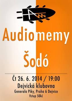 Profilový obrázek Šodó + Audiomemy v Dejvické Klubovně