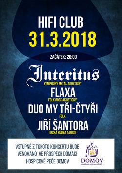 Profilový obrázek Interitus akusticky, Flaxa akusticky, Duo My tři-čtyři, Jiří Šantora - charitativní koncert