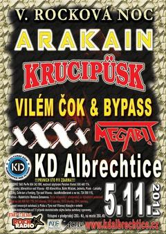 Profilový obrázek V. ROCKOVÁ NOC - Arakain, Krucipusk, xXXx, Megabit