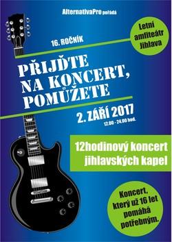 Profilový obrázek Přijďte na koncert , pomůžete 2017